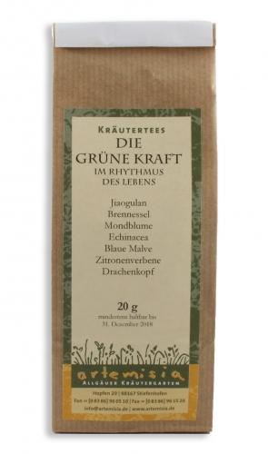 Allgäuer Kräutertee - Die grüne Kraft